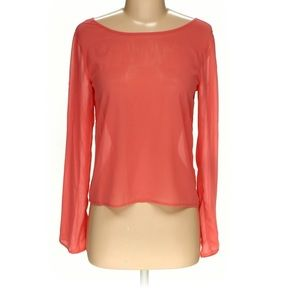 4/$15 Elodie Coral Top size XS